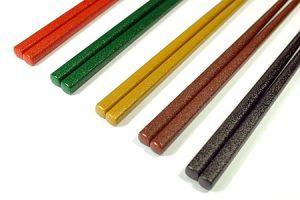 五色乾漆箸