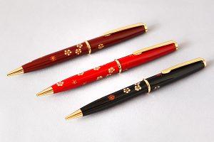 蒔絵ボールペン 紅白梅