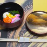 煮物椀 洲浜蒔絵