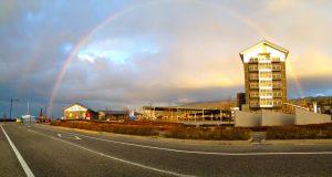 マリンタウンの虹