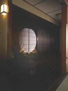 月兎蒔絵引き戸