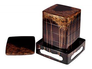 """Yondan-juu (4-tier stacking food boxes) """"Chikurin"""""""