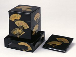 """Yondan-juu (4-tier stacking food boxes) """"Senmen"""""""