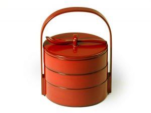 Kayaku-juu (3-tier stacking spice boxes)