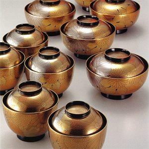 "Suimonowan / Nimonowan (bowl) ""Mangiku"""