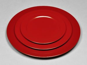 Plate (L,M,S) Red