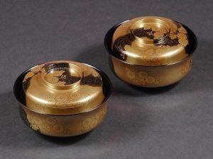 "Nimono-wan (Bowl for boiled food) ""Suhama&Edagiku"""