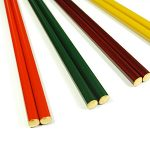 Chopsticks (gold end) 5 colors