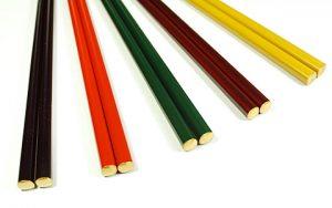 Chopsticks (gold end) 5 colors