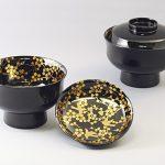 """Suimono-wan (Soup bowl) """"Oshukubai"""""""