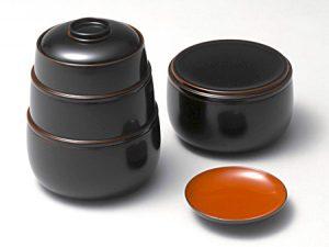 Takenoko-Bento (3-tier stacking & nesting lunch boxes)