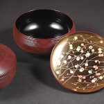 "Nimono-wan (Bowl for boiled food) ""Suhama&Edagiku"""