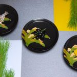 """Small dish """"Yukimochi-Basho"""""""