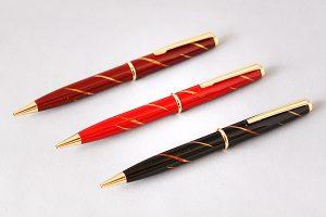 "Maki-e lacquered ballpoint pen ""Slanting rays"""