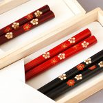 Chopsticks, Plum blossoms