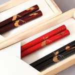 Chopsticks, Six gourds (Good health)
