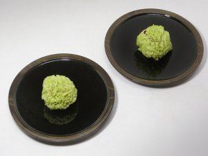 """Small plate """"MIzu-mon"""""""