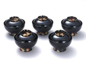 "Nimono-wan (Bowl for boiled food) ""Kouhakubai"""