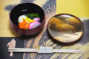 """Nimono-wan (Bowl for boiled food) """"Suhama"""""""
