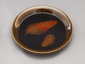"Small Plate ""Feather"""