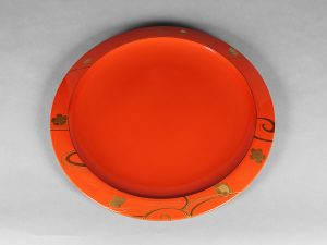 """Plate """"Cherry & Water"""""""